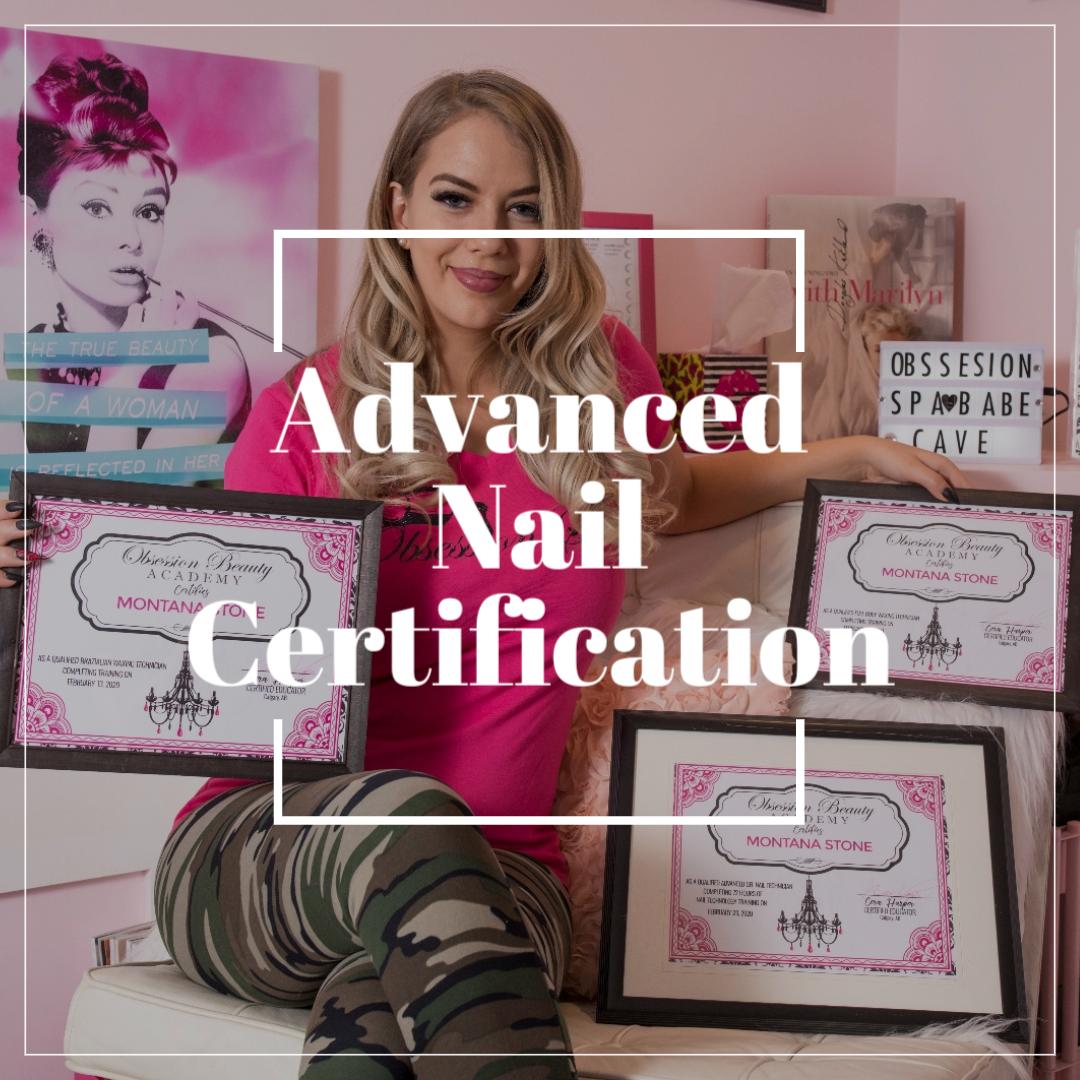 Advanced Nail Technology Certification